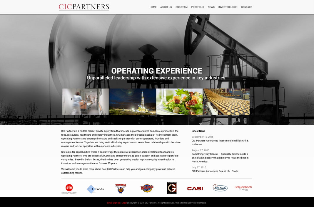 Web Designers For Cic Partners